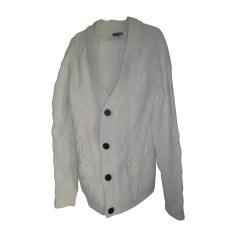 Gilet, cardigan H&M Blanc, blanc cassé, écru
