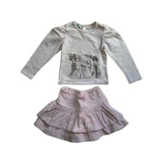 Shorts Set, Outfit BABY DIOR Pink, fuchsia, light pink