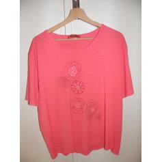 Top, tee-shirt MARCELLE GRIFFON Rose, fuschia, vieux rose