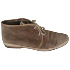 Lace Up Shoes N.D.C. MADE BY HAND Beige, camel