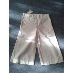 Cropped Pants RALPH LAUREN White, off-white, ecru