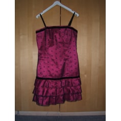 Robe courte BERSHKA Rose, fuschia, vieux rose