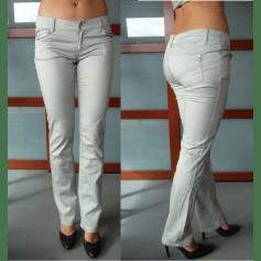 Pantalon droit AMISU Gris, anthracite