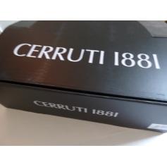 Calze CERRUTI 1881 4 COLORIS BLEU MARINE GRISE CLAIR GRIS FONCE ET NOIR