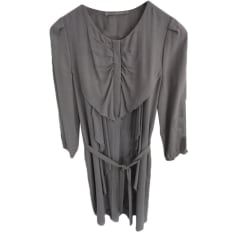 Robe mi-longue BIMBA & LOLA Gris, anthracite