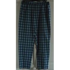 Pantalon droit BLEU DE SYM Bleu, bleu marine, bleu turquoise