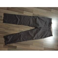 Pantalon droit H&M Gris, anthracite