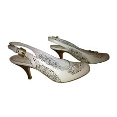 Sandales à talons BALDININI blanche
