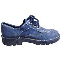 Chaussures à lacets  KICKERS Bleu, bleu marine, bleu turquoise