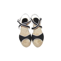 Wedge Sandals ZARA Black