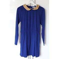 Robe courte BY MONSHOWROOM Bleu, bleu marine, bleu turquoise