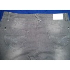 Jeans droit BANDOLERA Gris, anthracite