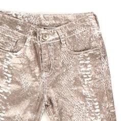 Pantalon slim, cigarette b&k style  pas cher