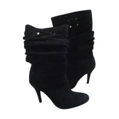 Stivali con tacchi GUESS Nero