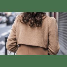 Coat LES FÉES DE BENGALE Beige, camel
