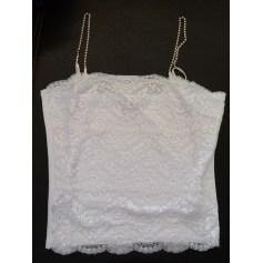 Top, tee-shirt SAGAIE Blanc, blanc cassé, écru