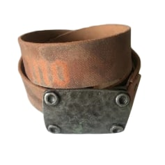 Belt JOHN GALLIANO Brown