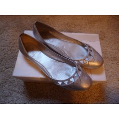 Ballet Flats BELLE BY SIGERSON MORRISON Silver