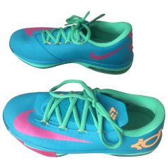 Sports Sneakers NIKE Blue, navy, turquoise