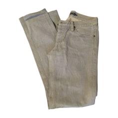 Jeans slim RALPH LAUREN Gris, anthracite
