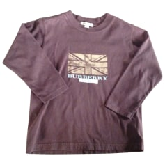 Tee-shirt BURBERRY Marron