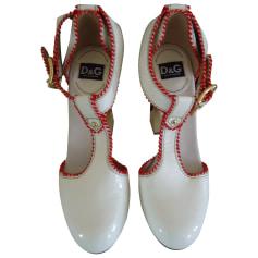 Mary Janes DOLCE & GABBANA White, off-white, ecru