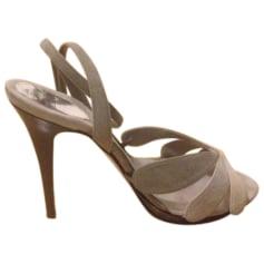 Sandales à talons AZZARO Gris, anthracite