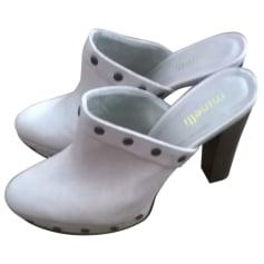 Clogs MINELLI White, off-white, ecru