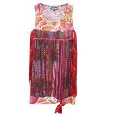 Mini-Kleid DESIGUAL Rot, bordeauxrot
