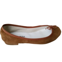 Ballerines REPETTO Beige, camel