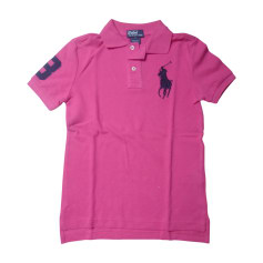 Polo RALPH LAUREN Rose, fuschia, vieux rose