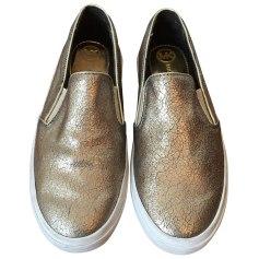 Sneakers MICHAEL KORS Golden, bronze, copper