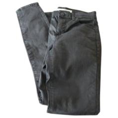 Pantalon slim, cigarette Topshop  pas cher