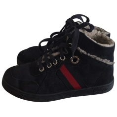 Snow Boots GUCCI Blue, navy, turquoise