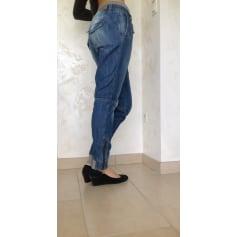 Jeans large, boyfriend TEDDY SMITH Bleu, bleu marine, bleu turquoise