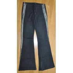 Jeans très evasé, patte d'éléphant TEDDY SMITH Gris, anthracite