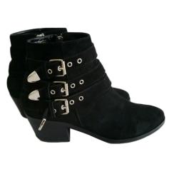High Heel Ankle Boots ZAPA Black