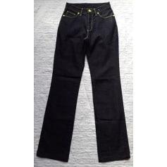 Jeans droit Trussardi Jeans  pas cher