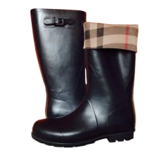 Boots BURBERRY Black