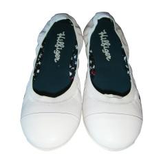 Ballerinas TOMMY HILFIGER Weiß, elfenbeinfarben