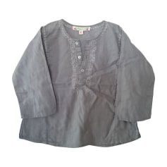 Blouse BONPOINT Gris, anthracite