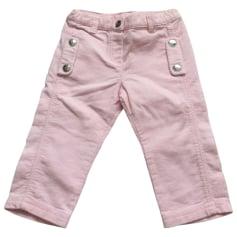 Pantalon BABY DIOR Rose, fuschia, vieux rose