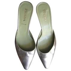 Ballet Flats PRADA Silver