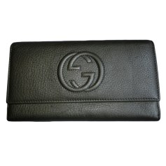 Portefeuille GUCCI Gris, anthracite