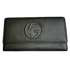 Wallet GUCCI Gray, charcoal