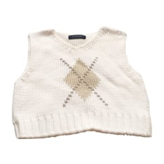 Sweater BURBERRY White, off-white, ecru