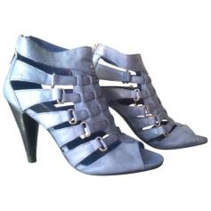 Sandales à talons MINELLI Bleu, bleu marine, bleu turquoise