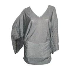 Pullover JOHN GALLIANO Silberfarben, stahlfarben