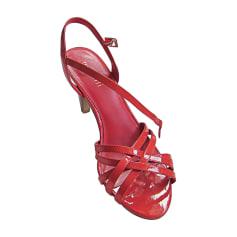 Sandales à talons MINELLI daim rouge 37 R4KCYi5E2