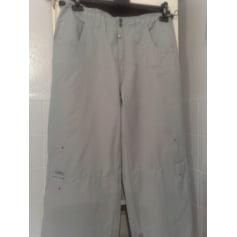 Pantalon large QUIKSILVER Gris, anthracite